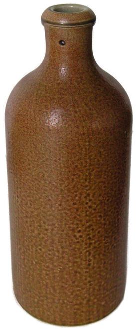 Steingutflasche 700ml braun BV1 Stück