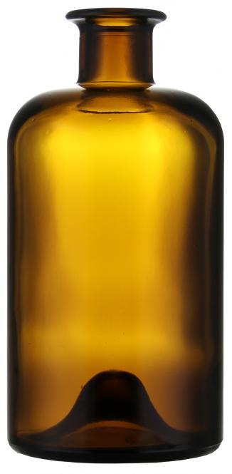 Apothekerflasche 500ml braun 18mm
