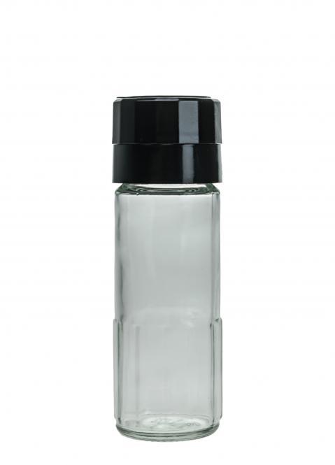 Gewürzglas 100ml weiß Stück