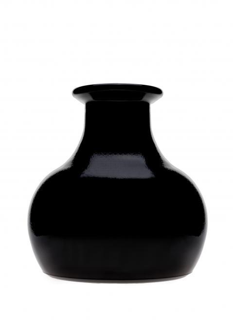 Weinauffanggefäß schwarz beschichtet Nicht für die Spülmaschine geeignet Stück