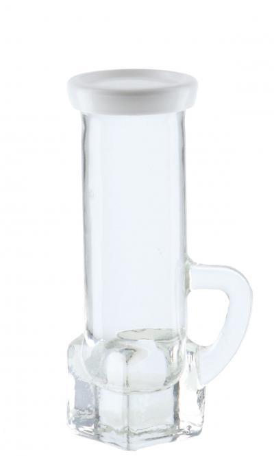 Schnapsstamper / Früchteglas 40ml mit Henkel inkl. Deckel Stück