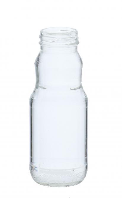 Saftflasche 200ml weiß TO38 Stück