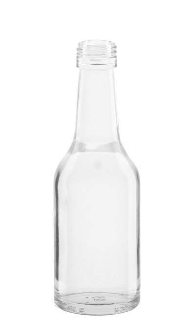 Gradhalsflasche 100ml weiß PP22 Stück