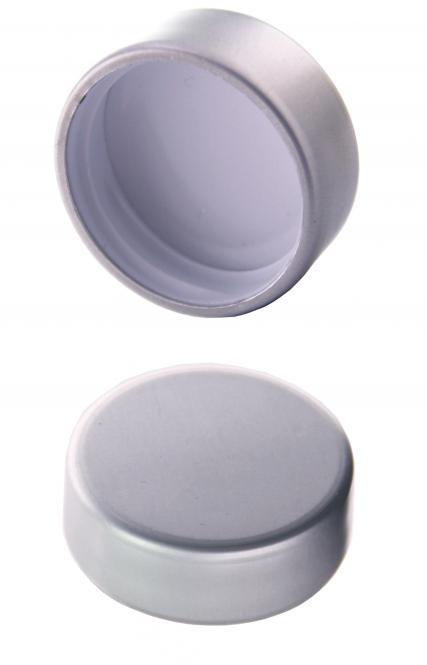 GCMI400/28 - Schraubverschluss silber Beutel à 100 Stück