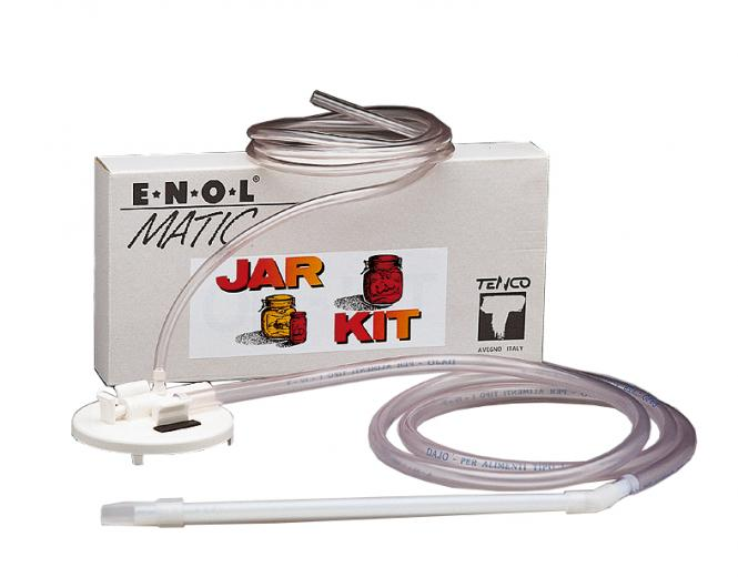Zusatz-Kit  Jar  für Abfüllgerät Enolmatic Zum Abfüllen von Weithalsgläsern