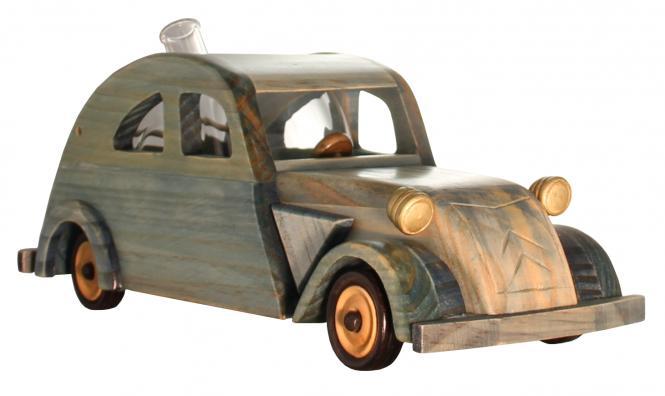 Citreon 2CV Holzmodell mit Glastank 350ml