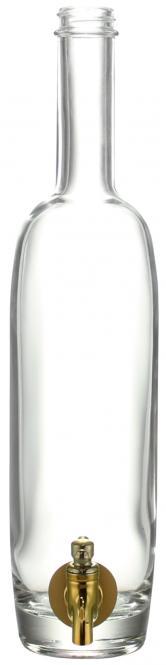 Sultane 500 ml weiß mit Hahn GCMI400/28 Stück