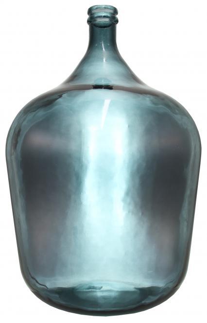 Glasballon 34000ml blau