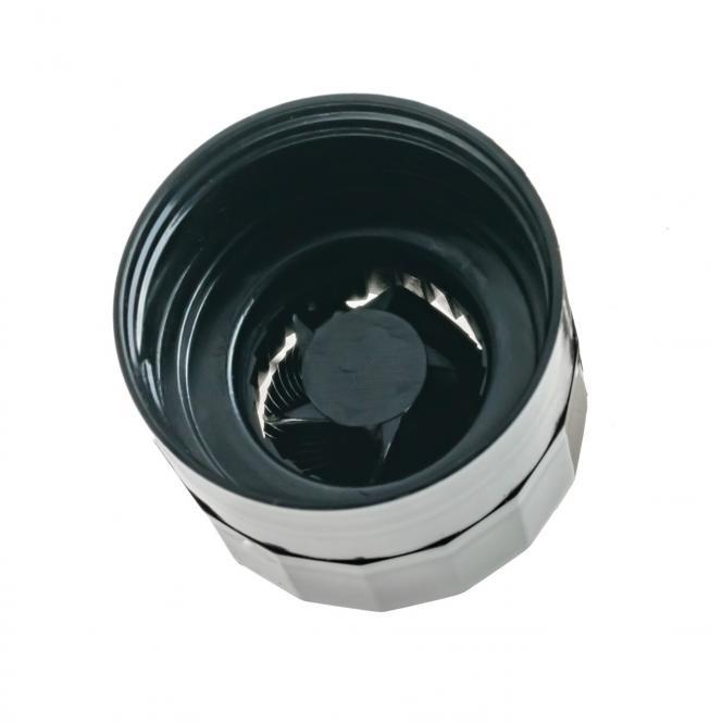 Gewürzglasverschluss Mühle schwarz Stück