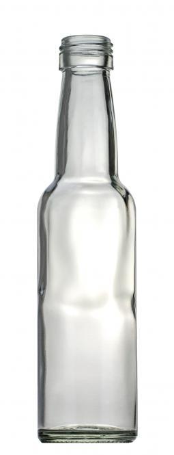 Kropfhalsflasche 100ml weiß PP22 Stück