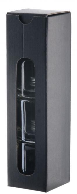Pila 50ml 1er-Geschenkkarton schwarz 3er Stange mit Endstück Pack á 10 Stück Stück
