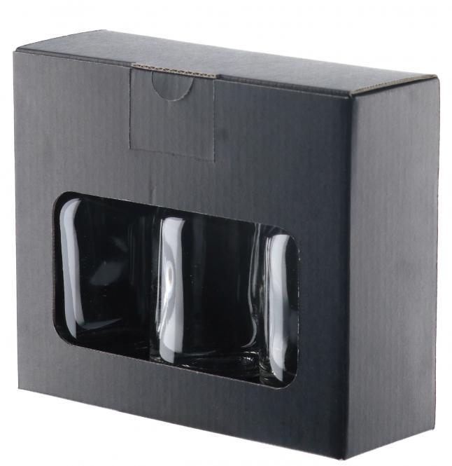 Nocturne 100ml - 3er Geschenkkarton schwarz Pack á 10 Stück Stück