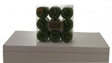Teelicht Duft Wassermelone grün 27 Stück pro Verpackung