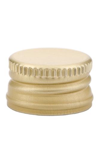 pp28 schraubverschluss gold alu mit gewinde st ck online kaufen flaschengro handel reis. Black Bedroom Furniture Sets. Home Design Ideas