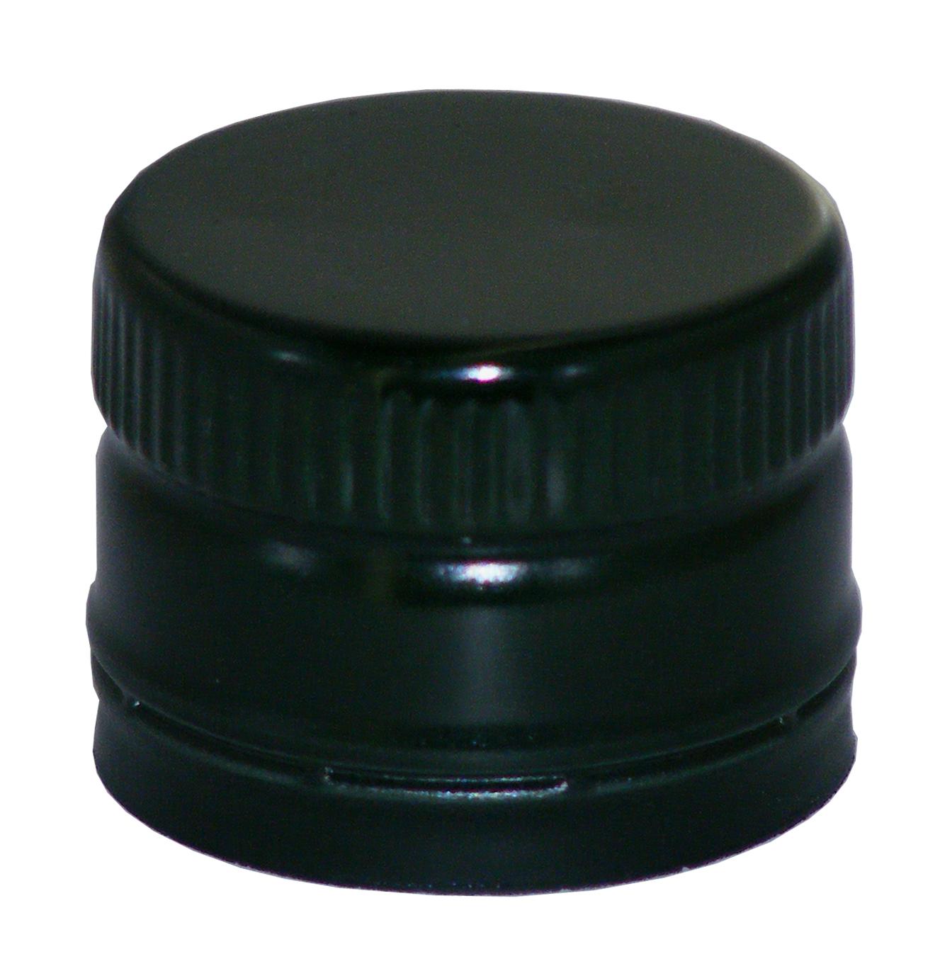 pp31 5 schraubverschluss schwarz alu mit ausgie er gewinde online kaufen. Black Bedroom Furniture Sets. Home Design Ideas