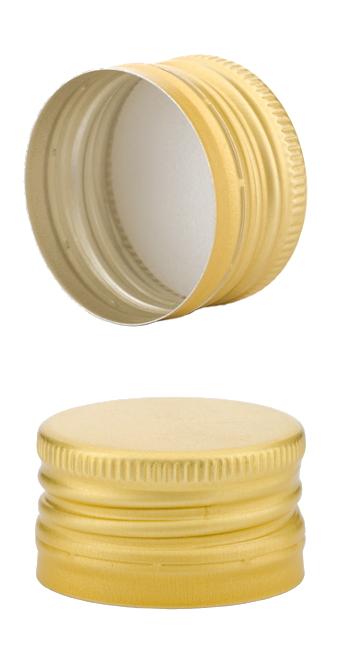 pp28 schraubverschluss gold alu mit gewinde abrissring passend f r handverschlusszange st ck. Black Bedroom Furniture Sets. Home Design Ideas